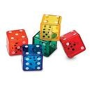 Learning Resources Dice in Dice, Set of 72