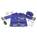 Melissa & Doug Police Officer Role Play Costume Set  Police Officer Cop Role Play Costume Set Melissa & Doug Toys 4835