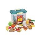 Learning Resources Giant Play Food Set, Set of 80