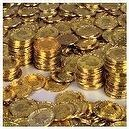 Gold Coins (144 Pc) -Plastic Toy Coins for Pirate Parties!