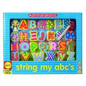 Alex Little Hands String My ABCs