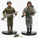 GI Joe 35th Anniversary Then and Now Twin Figure Set