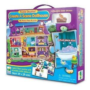 The Learning Journey Puzzle Doubles Create A Scene Dollhouse Puzzle