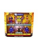 DC Universe Infinite Heroes Crisis Series Exclusive Action Figure 6Pack Omac Attack Superman, Booster Gold, Wonder Woman, 2 Oma