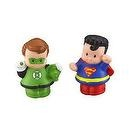 Little People DC Super Friends Green Lantern & Superman Figure Pack