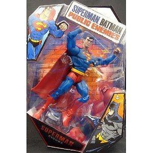 Superman Action Figure from Superman Batman Public Enemies