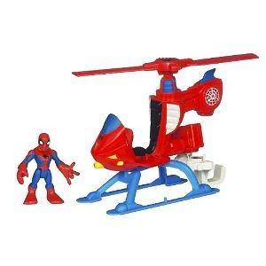 Playskool Super Hero Adventure Helicopter W/ Spider-Man