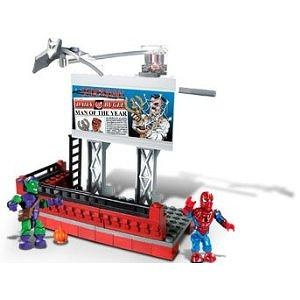 Mega Bloks - The Amazing Spider-Man Marvel Street Series: Green Goblin