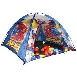 Ball, Bounce & Sport Spiderman Ball Pit Tent with 24 BP Balls