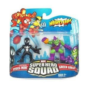 Marvel Superhero Squad Series 20 Mini 3 Inch Figure 2Pack Black SpiderMan Green Goblin