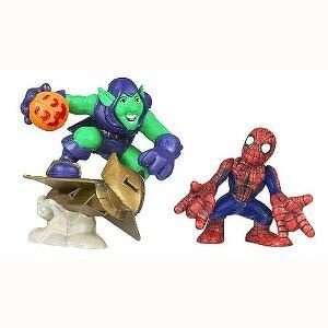 Marvel Superhero Squad Series 14 Mini 3 Inch Figure 2-Pack Spider-Man and Green Goblin