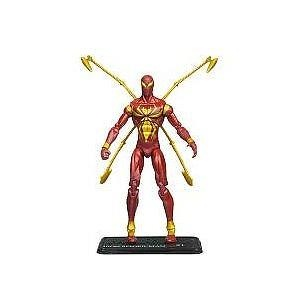 Marvel Universe 3 3/4 Inch Series 9 Action Figure #21 Iron SpiderMan