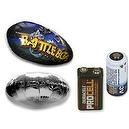 Mach Airship Accessory Bundle Incl BattleBot Blimp & UFO Saucer Balloons, 3V & 9V Battery
