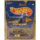 1991 Hot Wheels HW BLUE CARD #194 GOODYEAR BLIMP... GRAY...INTERNATIONAL CARD VARIATION...BEST TIRES in the WORLD-RARE