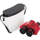 Safari LTD Red Translucent Binocular with Vinyl Case