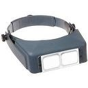 "Donegan LX-5 OptiVISOR with Optical Grade Acrylic Lensplate, 2.5x Magnification, 8"" Focal Length"