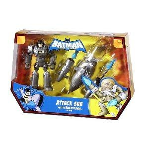 Batman: The Brave and The Bold Attack Sub with Batman Figure
