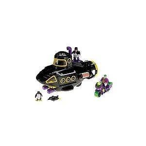 Imaginext DC Super Friends Exclusive Villain Vehicle Gift Set Black Penguin Sub