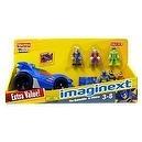 Imaginext DC Super Friends The Batmobile & Villains