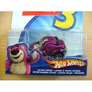Toy Story 3 Hot Wheels Lotso Speed Car
