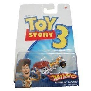 Toy Story 3 Hot Wheels Wheelin Woody Die Cast Car