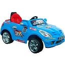 Lil Rider Battery-Powered Blue Bomber Sports Car with Remote, Blue