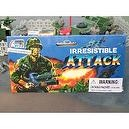 IRRESISTABLE ATTACK TOY ARMY MEN AND PLASTIC MILITARY VEHICLE SOLDIER PLAYSET
