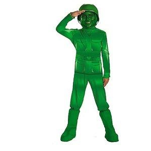 Green Army Man Deluxe Costume, Child (3T-4T) Green Army Man Deluxe