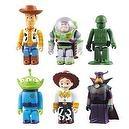 Toy Story 3 Set of 6 Kubricks:Woody,Buzz Lightyear,Green Army Men, Alien,Jessie & Zurg