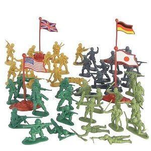 202 Piece Play Combat Soldier Set in Bucket