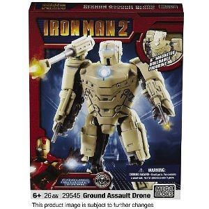 Ironman 2 MetalOns Army Drone