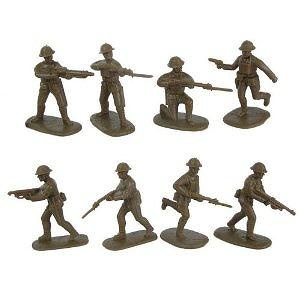 US Army Doughboys (20) 1-32 Armies in Plastic
