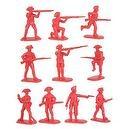 American Revolution British Army Infantry (20) 1-32 Armies in Plastic