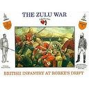 The Zulu War - British Infantry At Rorkes Drift Plastic Army Men: 16 piece set of 54mm Figures - 1:32 Scale
