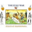The Zulu War - Zulus at Isandlwana Plastic Army Men: 16 piece set of 54mm Figures - 1:32 Scale