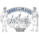 Napoleonic Wars Russian Army Musketeers (20) 1/32 Armies in Plastic