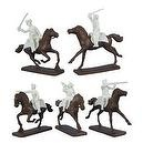 American Revolution French Cavalry (5 Mounted) 1/32 Armies in Plastic