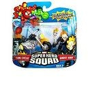Marvel Super Hero Squad Ghost Rider and Flame Cycle 3-Inch Scale Figure 2-Pack