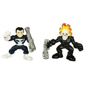 Marvel Super Hero Squad - Punisher and Ghost Rider