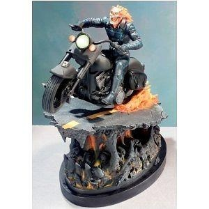 Ghost Rider Painted Statue from Marvel Comics