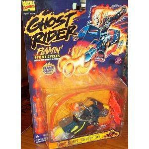 Ghost Rider Flamin Stunt Cycles Ghost Fire Action Figure