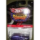HOT WHEELS WAYNES GARAGE METAL/METAL REAL RIDERS 24/39 PURPLE WITH FLAMES ROLLING THUNDER