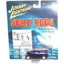 Johnny Lightning - Surf Rods Series - The Ghostriders (Black/Purple color w/surfboards) - 1:64 Scale Replica