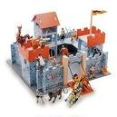 Wooden Red Camelot Castle