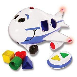 Jumbo the Jet Shape Sorter Remote Control Airplane (Blue)