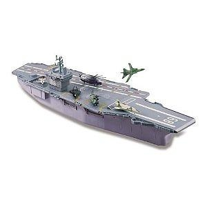 2002 Redbox 31 Aircraft Carrier Playset With 14 Working Elevator 1849297920