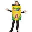 Crayola Crayon Box Kids (Standard)  Kids Crayon Box Costume