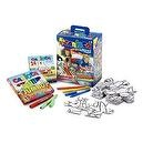 Carioca Maxi-Project 35-Piece Coloring Puzzle (Adventure)