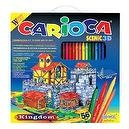 Carioca Scenic 3D Coloring 56 Piece Construction Kit