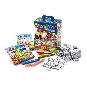 Carioca Maxi-Project 35-Piece Coloring Puzzle (Empire)